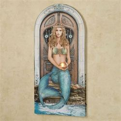 Mystical Mermaid LED Canvas Wall Art Multi Cool