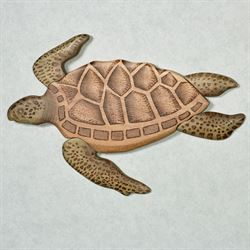 Swimming Sea Turtle Wall Art Natural