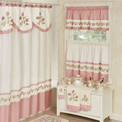 Blush Rose Shower Curtain 72 X