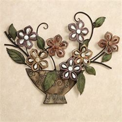 Autumn Melody Wall Art Sculpture Rustic Brown