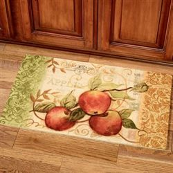 Postcard Apples Comfort Mat Multi 16 x 26