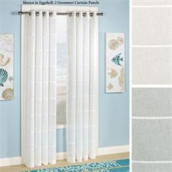 Horizon Stripe Grommet Curtain Panel