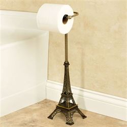 Paris Toilet Tissue Holder Bronze