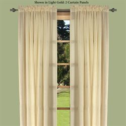 Lucerne Semi Sheer Curtain Panel