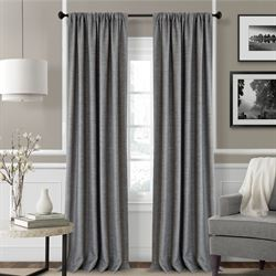 Pennington Wide Tailored Curtain Pair