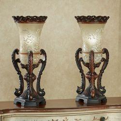 Chitrita Table Lamp Pair Bronze