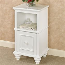 McKale White Accent Table