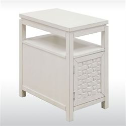 Darcy Off White Side Table