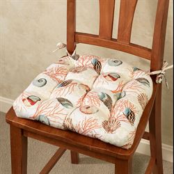 Shell Array Chair Cushion 17 x 15