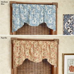 Verbena Shaped Valance 52 x 21