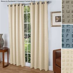 Spanish Steps Grommet Curtain Panel