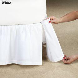 Deanne Detachable Gathered Bedskirt