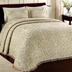 Allover Brocade Bedspread