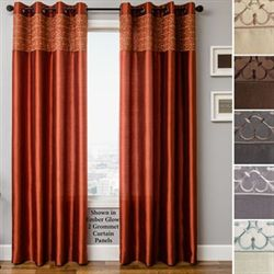 Gate Grommet Curtain Panel