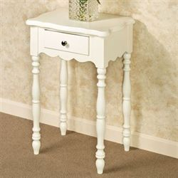 Fiana Accent Table Ivory