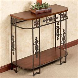 Landyn Console Table Natural Cherry
