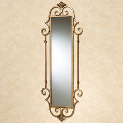 Esmeralda Panel Wall Mirror Antique Gold