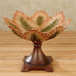 Sunset Palm Centerpiece Bowl Multi Earth