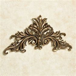 Alessio Wall Topper Antique Gold