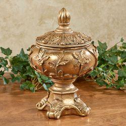 Rosebella Covered Bowl Venetian Gold