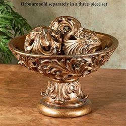 Arabella Centerpiece Bowl Light Bronze