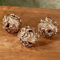 Arabella Orbs Light Bronze Set of Three