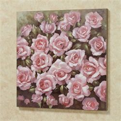Averie Rose Canvas Wall Art Pink