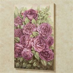 Addison Rose Canvas Wall Art Purple