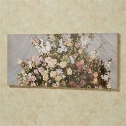 Magnificent Bouquet Canvas Wall Art Multi Pastel