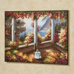 Abbondanza Canvas Wall Art Multi Warm
