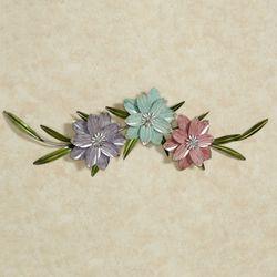Trio dei Fiori Wall Art Multi Pastel