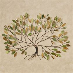 Gentle Breeze Tree Wall Art Green