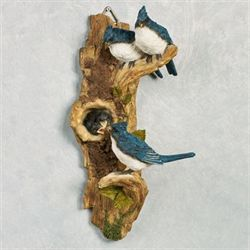 Peaceful Blue Jays Wall Art Federal Blue