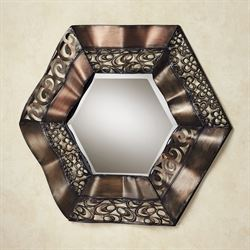 Raghnall Wall Mirror Multi Metallic