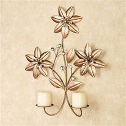 Evianna Flower Wall Sconce Multi Metallic