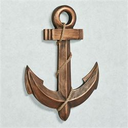Anchors Aweigh Wall Art Antique Bronze
