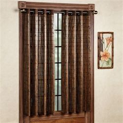 Bamboo Window Panel  42 x 63