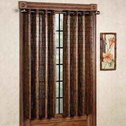 Bamboo Window Panel  42 x 63