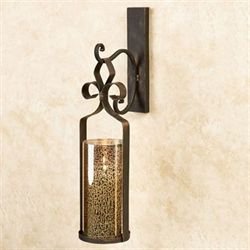 Sabra Hanging Wall Sconce Antique Bronze
