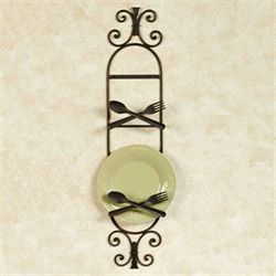 Bon Appetit Wall Mount Two Plate Rack for Kitchen  sc 1 st  Touch of Class & Decorative Plates and Racks | Touch of Class