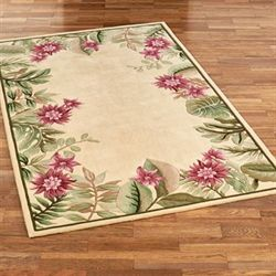 Tropical Haven Rectangle Rug