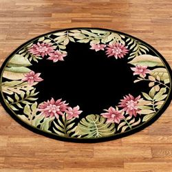 Tropical Haven Round Rug
