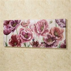 Garden Jewels Canvas Wall Art Multi Pastel