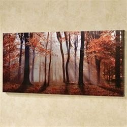 Autumns Allure Canvas Wall Art Multi Warm