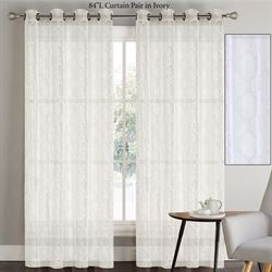 Nadia Wide Grommet Curtain Pair 108 x 84