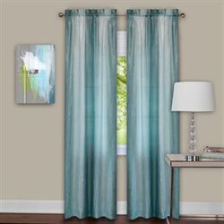 Sacada Tailored Curtain Pair Aqua Mist