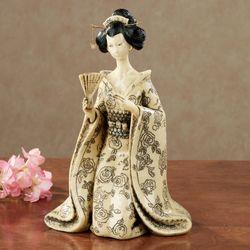 Geisha Glamour Figurine Beige
