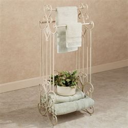 Aldabella Creamy Gold Towel Stand