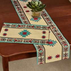 Carrizo Southwest Table Runner Multi Warm 13 x 72