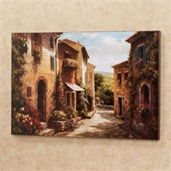 Spring Awaits Canvas Wall Art Multi Earth
